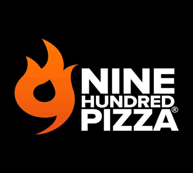 logo negro nine pizza